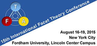 15th International Facet Theory Conference